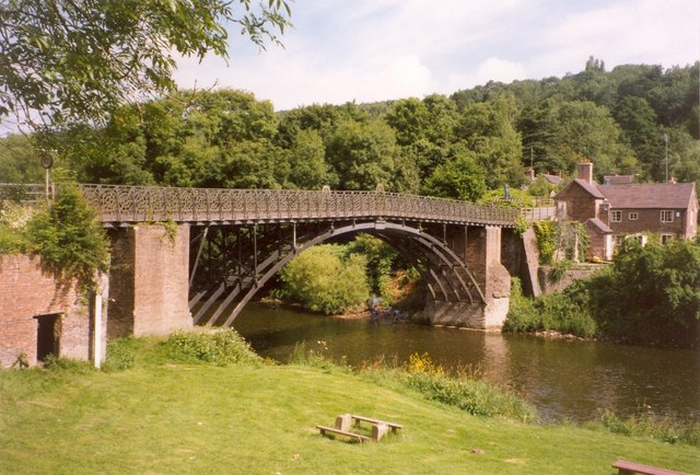 Coalport Bridge, Broseley
