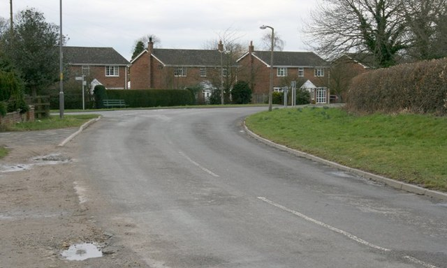 Road Bend, Outskirts of Bagby