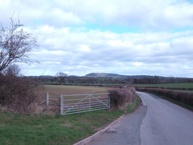 Kilpeck to Dewchurch road
