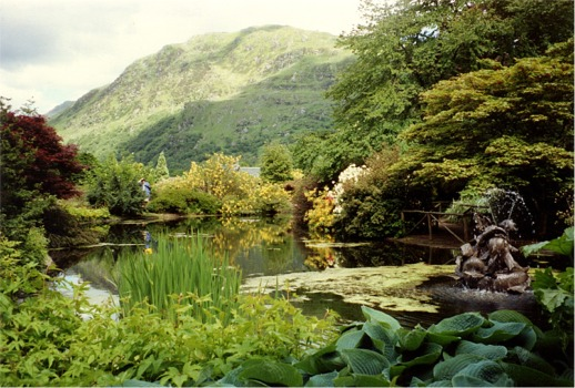 The Pond, Younger Botanical Gardens, Benmore