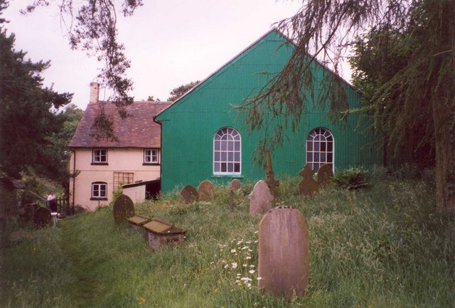 Lords Hill Baptist Chapel and Cottage, Worthen with Shelve