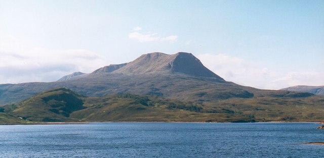 Creag an Fhithich from Loch Bad an Sgalaig