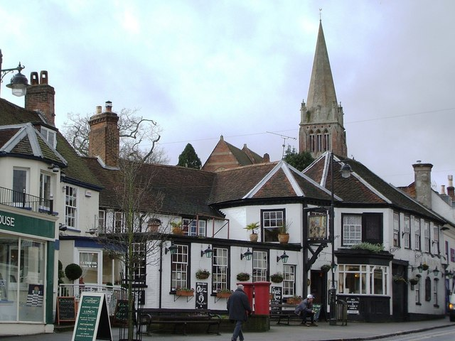 Fox and Hounds at Lyndhurst