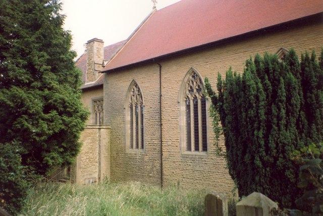 Detail of All Saints' Church , Richard's Castle (Shropshire)
