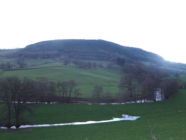 Hill overlooking the Monnow