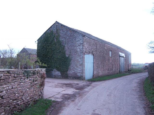 Barn at Upper Cefn Llytha