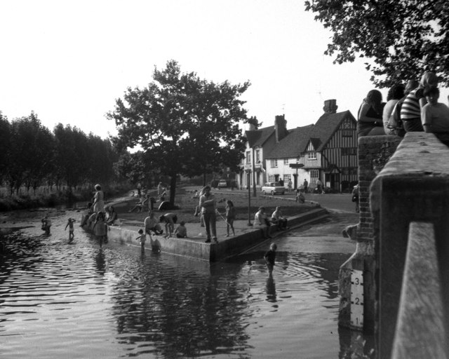 The ford at Eynsford, Kent