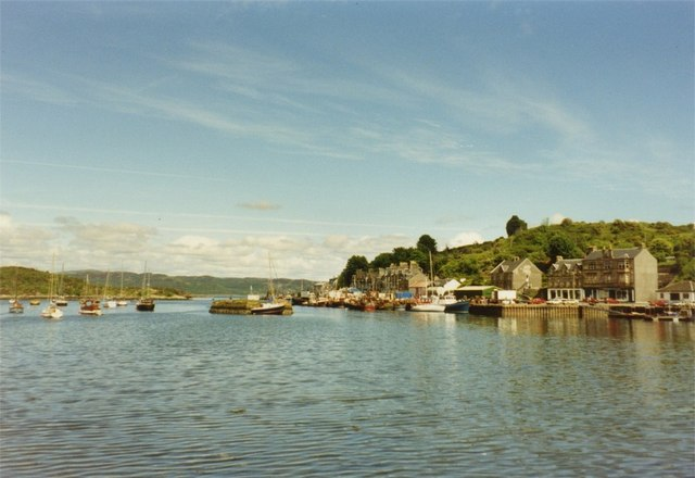 The harbour at Tarbert, Kintyre