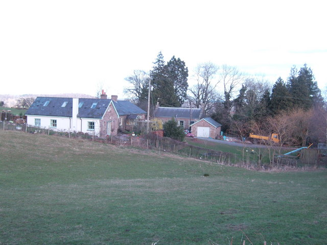 Chapel cottage and former chapel in background