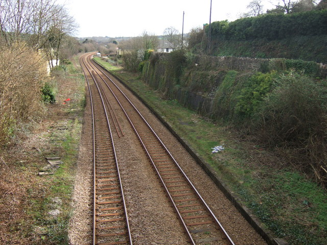 Site of Kingskerswell station