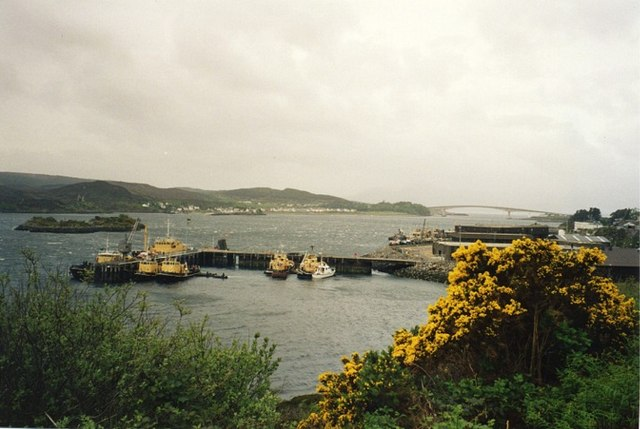 Harbour at Kyle of Lochalsh