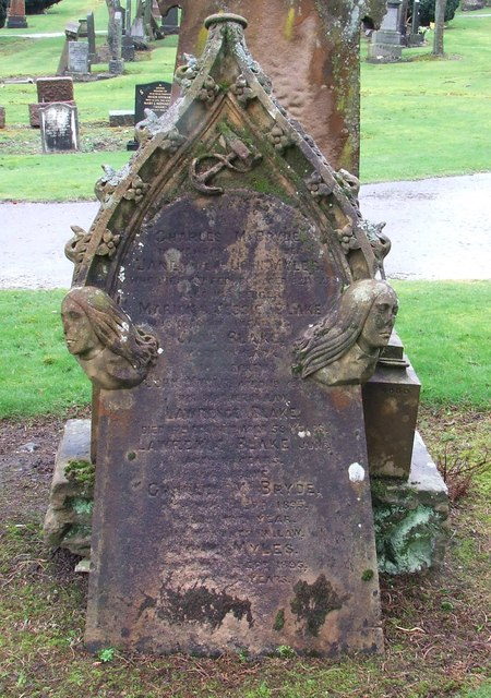 Sailor's Grave, Port Glasgow Cemetery