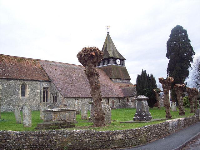 The Parish Church of St Peter and St Paul, King's Somborne
