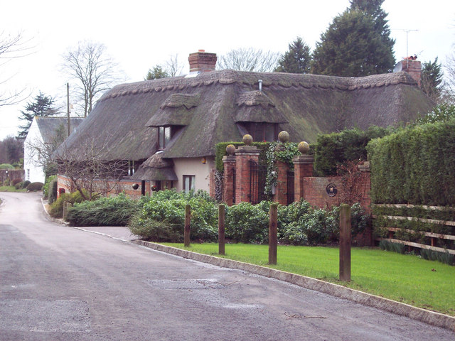 Thatched cottage, Braishfield