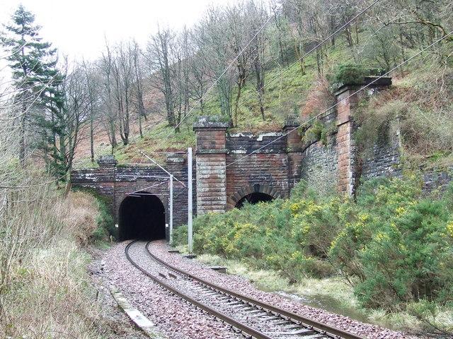 Inverkip Railway Tunnels