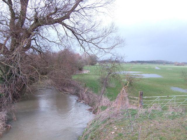 Ampney Brook from Sheeppen Bridge