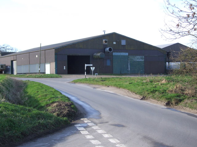 Junctions and Dovehouse Farm Buildings