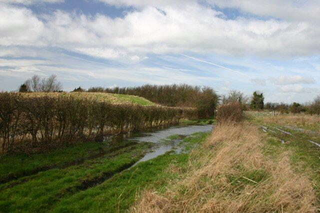 Flooded bridleway