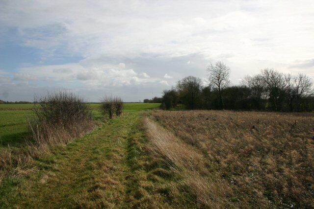 Bridleway to Barton Road
