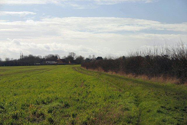 Footpath to Little Eversden