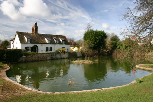 Comberton village pond