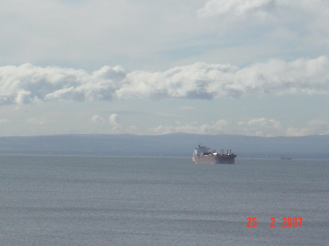 View from Dysart to Lothians