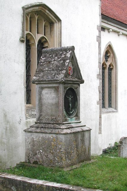 St James, Thorley, Herts - Monument