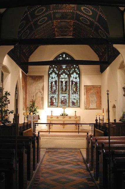 St John the Baptist, Widford, Herts - East end