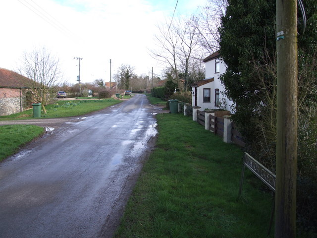 The Road Through Pristow Green