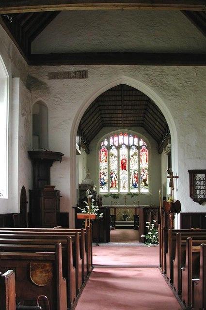 St Dunstan, Hunsdon, Herts - East end