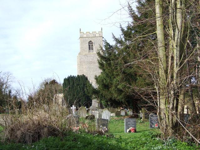 Tibenham Graveyard and Church