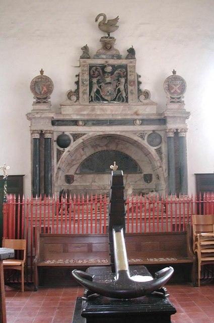 St Dunstan, Hunsdon, Herts - Monument