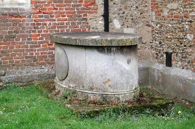St Dunstan, Hunsdon, Herts - Grave