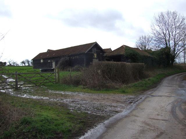 Old Farm Buildings, Cargate Common