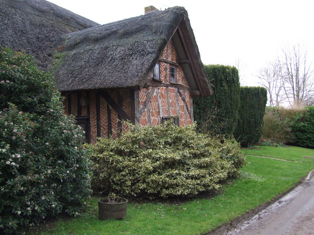 Old Timbered Farm House