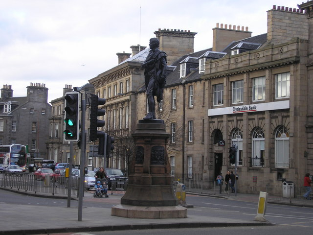 Rabbie Burns and a set of Traffic Lights