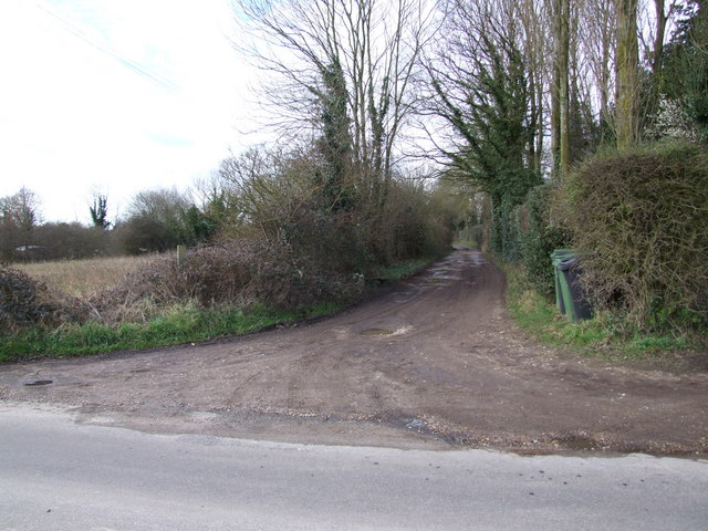 Track to Sandpit Farm