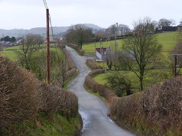 B4580 Near Llansilin