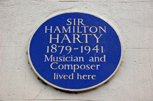 Hamilton Harty plaque, Hillsborough