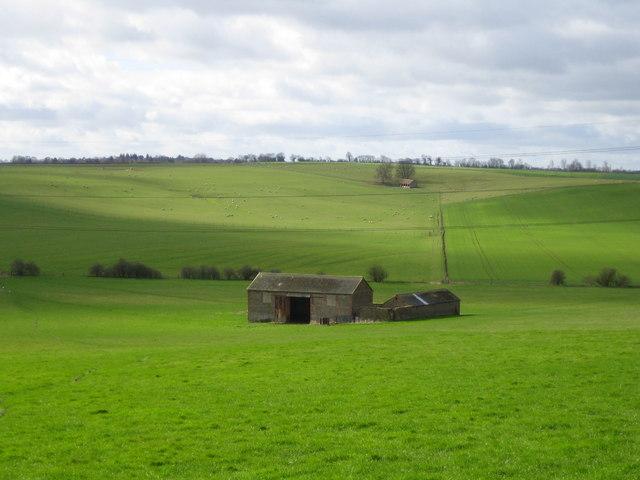 Isolated barn, near Bugbrooke