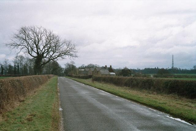 Home Farm and radio mast