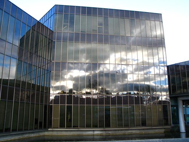 Reflections in the Scottish Widows Building