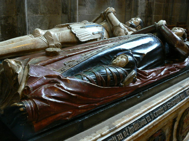 Sarcophagus. Hereford Cathedral