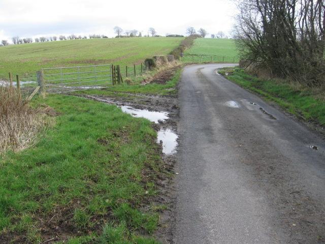 Road past Braehead