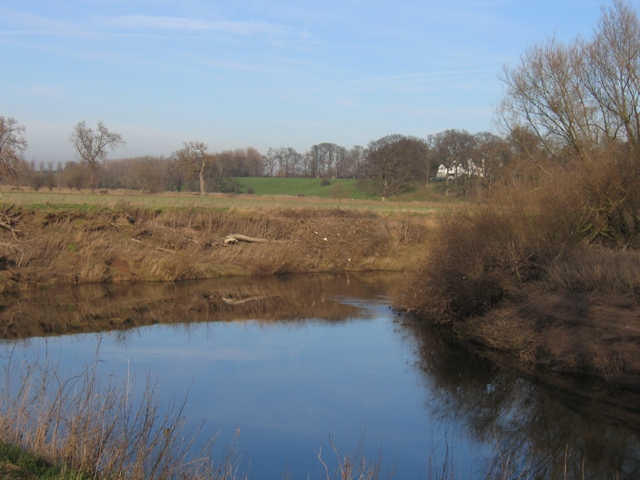 Bend in the River Dee near Crewe Hill