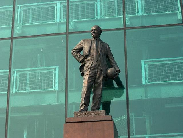 Sir Matt Busby's Statue, Old Trafford