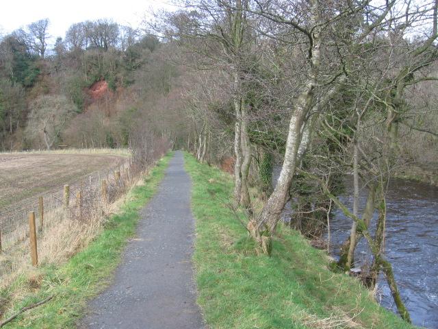 River Ayr Way at Catrine