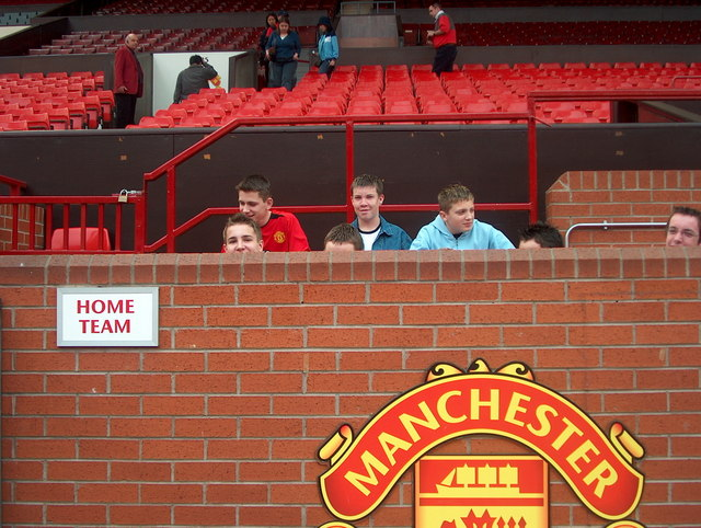 Home Dugout, Old Trafford