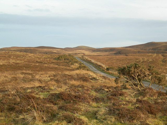 Moorland near Coullabus
