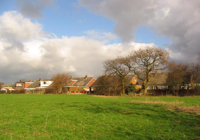Housing estate, W Wistaston